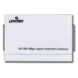 Leviton 10/100Mbps 4-Port Internet Gateway