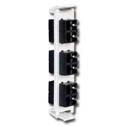 Siemon Flat Quick-Pack 6 Duplex SC Adapter Plate (12 Fibers)