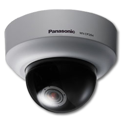 Panasonic Compact Mini-dome Color Camera with Adaptive Blace Stretch Technology
