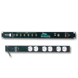 Middle Atlantic 115 Volt Rackmount Power Strip - 15 Amp, 6 Outlets