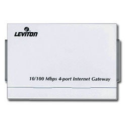 Leviton 10/100Mbps 4-Port Internet Gateway