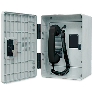 GAI-Tronics 257 Autodial Series Outdoor Phone with Polyester Enclosure