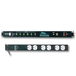 Middle Atlantic 115 Volt Rackmount Power Strip - 15 Amp, 6 Outlets