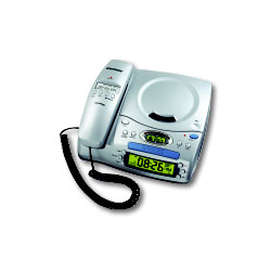 Conair Corded Telephone/CD Player/Clock/Alarm/Radio