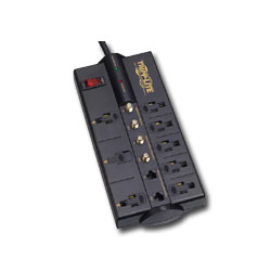 Tripp Lite Video Home Theater 8 AC Outlet Surge Suppressor