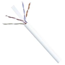 Commscope White U/UTP Plenum Cable, 1000'