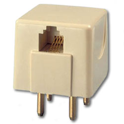 Suttle 4 Prong Non-Mod to Modular Plug
