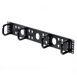 Panduit® Horizontal Panel D-Rings Front Only 2 RU