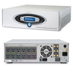 APC J Type AV 1000VA Power Conditioner With Battery
