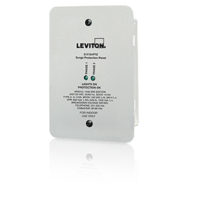 Leviton Office Machine Multimedia Home Theater Surge Suppression Panel Protector
