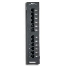 Panduit® DP6 Plus 12-Port Patch Panel (RoHS Compliant)