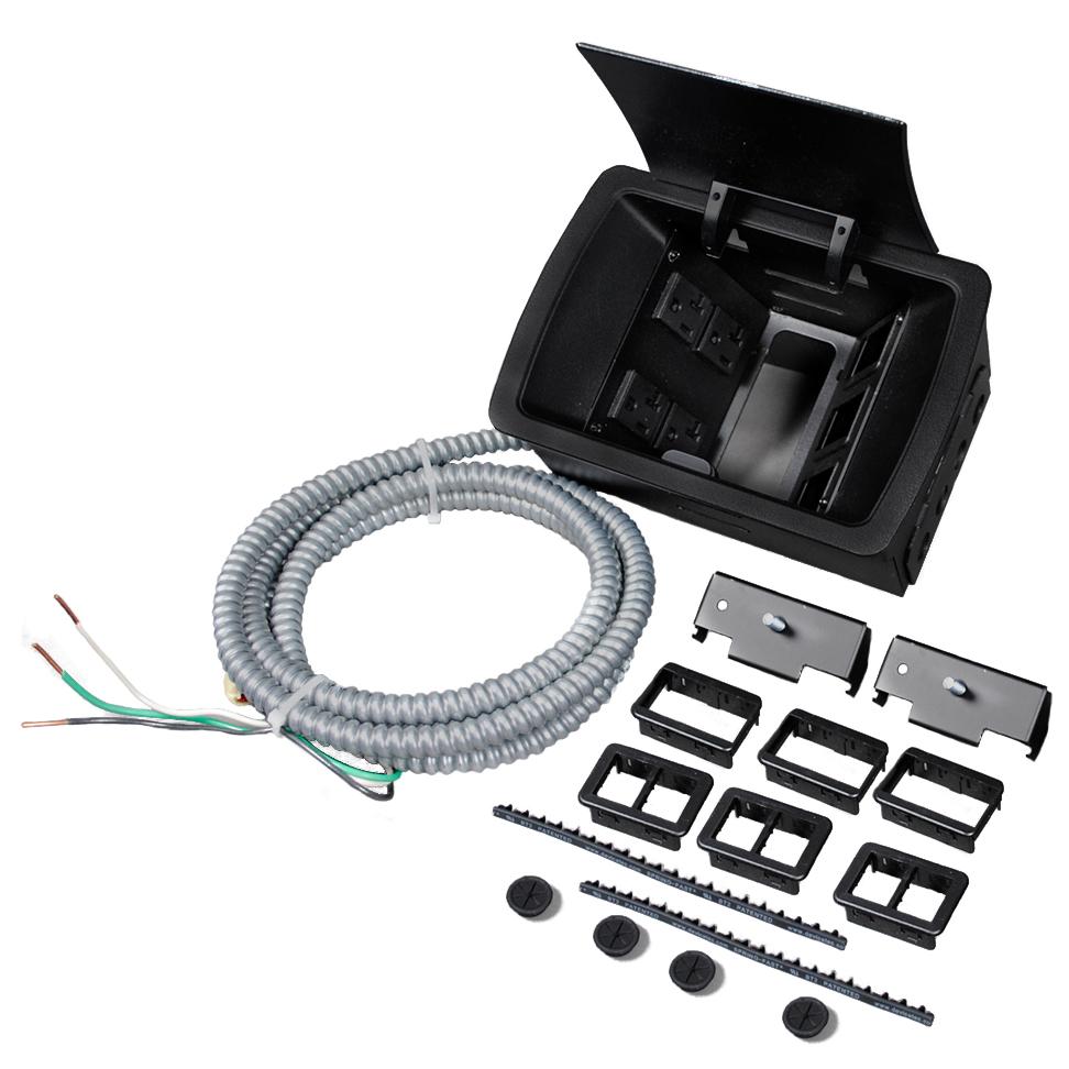 deQuorum™ Field-Wired Unit, Legrand/Wiremold Modules, Floor Jacks ...
