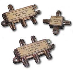 Leviton Coaxial Splitter (Package of 2)