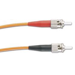 Panduit® NetKey ST to ST, Singlemode, Riser, Duplex Patch Cord