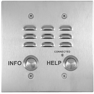 Viking 2 Button Double Gang Mounted VoIP Emergency Phone