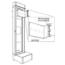 Middle Atlantic Sub-Plate Mounting Kit