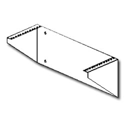 Southwest Data Products Flush Mount Wall Bracket - 9.25