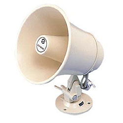Aiphone Horn Speaker, 8 Ohm/70 V and 16 Watts