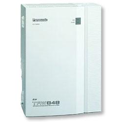 Panasonic KX-TAW848 Advanced Hybrid Phone System (4x4)