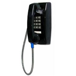 G-TEL Enterprises, Inc. Standard Commercial Wall Phone, Black