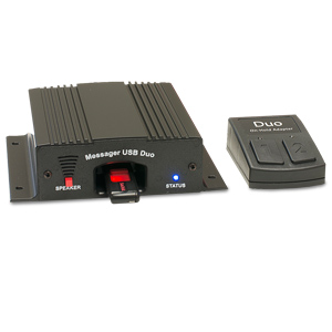 Nel-Tech Labs Messager USB Duo with Wireless On-Hold Adapter Kit