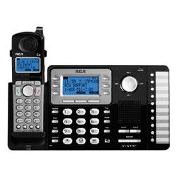 RCA - Thomson, Inc. DECT 6.0 2-Line Cordless Expandable Telephone System