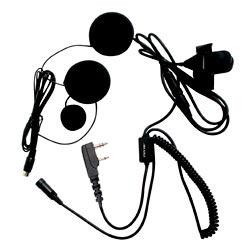 Pryme SPM-800 Series Medium Duty In-Helmet Mic for Kenwood/Relm Radios