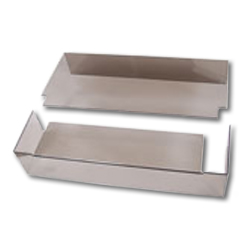 Hubbell LEXAN Rear Cover for FTR Series Interconnect Trays