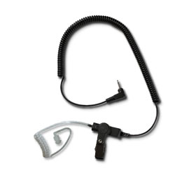 Impact Radio Accessories Platinum Series Listen Only with 3.5mm Jack and Acoustic Tube