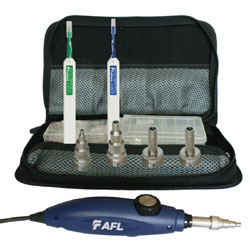 AFL DFS1 Digital FiberScope PC/UPC Inspection Kit