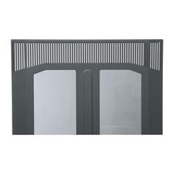 Middle Atlantic Plexiglass Front Door for BGR Series Gangable Rack Enclosure, 45 Rack Space