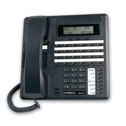 Vertical-Comdial 24 Line Impact SCS Phone with Small Display