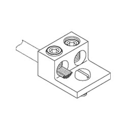 Chatsworth Products One Mounting Hole Ground Terminal Block