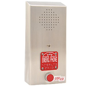 Ceeco Emergency Speakerphone with ADA Features