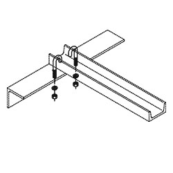 Chatsworth Products J-Bolt Kit, Auxiliary Framing Channel/Wall Angle Support