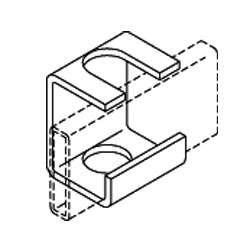Chatsworth Products Slotted Support Bracket