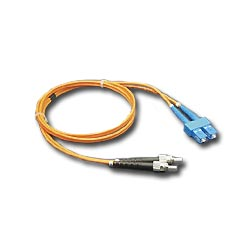 ICC Multimode Fiber Optic Patch Cord - SC / ST