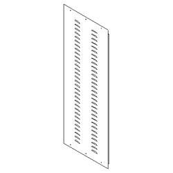Southwest Data Products Series 2000 Louvered Side Panel 23U