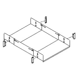 Southwest Data Products Four Post Rack Adjustable Equipment Shelf