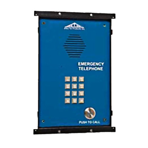 Allen Tel Emergency Phone with Outlet Box Less Frame