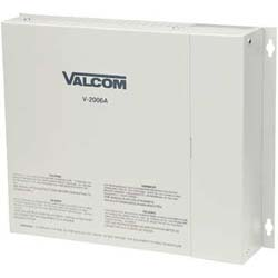 Valcom Power with 6 Zone One-Way Page Control