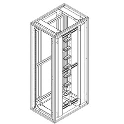 Chatsworth Products Seismic Frame Cabinet System without Side Panels