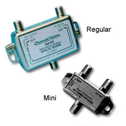 Channel Vision Diplexer: Satellite and RF Combiner/Splitter