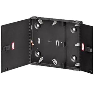 Leviton Small SDX Wall-Mount Fiber Enclosure Empty with Dual Door & No Lock