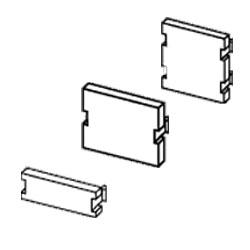 Leviton Blank Module