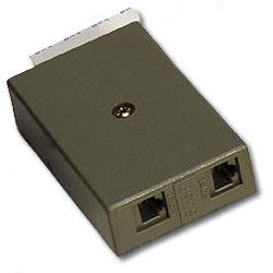 Suttle 6/8 Conductor, Non-Keyed RJ31X Voice Connecting Block (VOICE & VOICE)