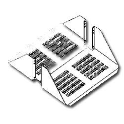 Southwest Data Products Double Sided Vented Rack Shelf