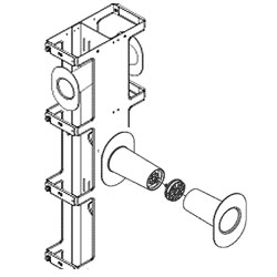 Chatsworth Products Cable Distribution Spool for Double-Sided Vertical
