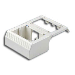 Panduit® Workstation Outlet Center Offset Box