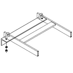 Chatsworth Products J-Bolt Kit, Cable Runway